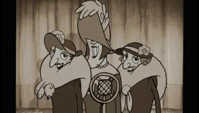 Singing The Triplets of Belleville 2003 animatedfilmreviews.filminspector.com
