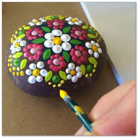 100+ Diy Ideas Of Painted Rocks With Inspirational Picture And Words