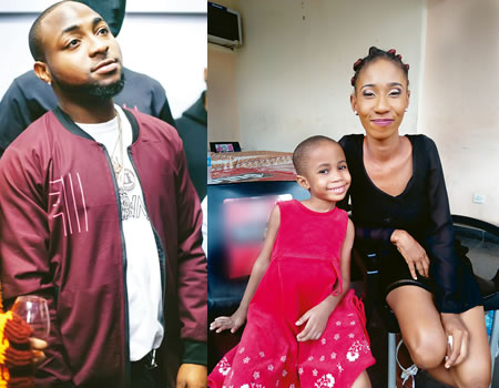 My Daughter Wants To See Her Father, Davido's Alleged Baby Mama Cries Out