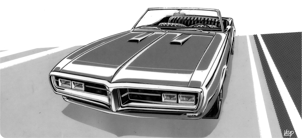 Pontiac Firebird 68 by Velop
