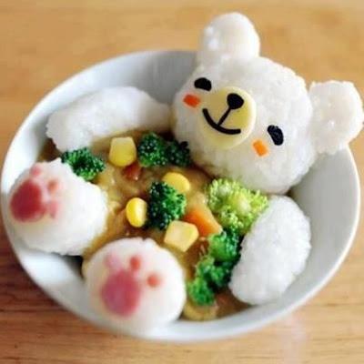 bento orsetto di riso