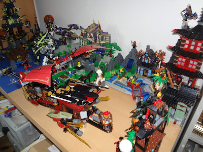 Lego NINJAGO Layout final update (for now)!