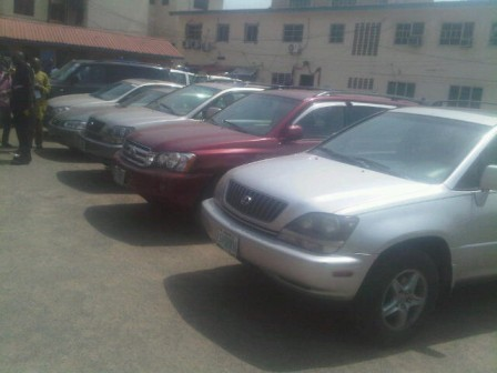 stolen vehicles lagos nigeria