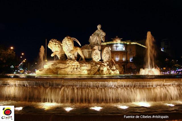 Um passeio por Madri - Cibeles