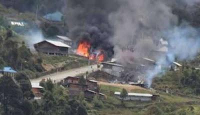 Kronologi Bentrok Pilkada Memakan korban, Antar suku 600 Orang Terkena Panah