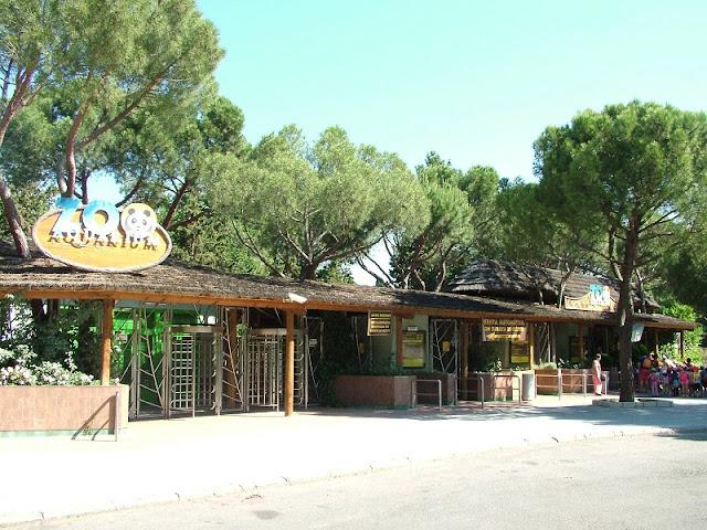 Informações do Zoo Aquarium de Madri