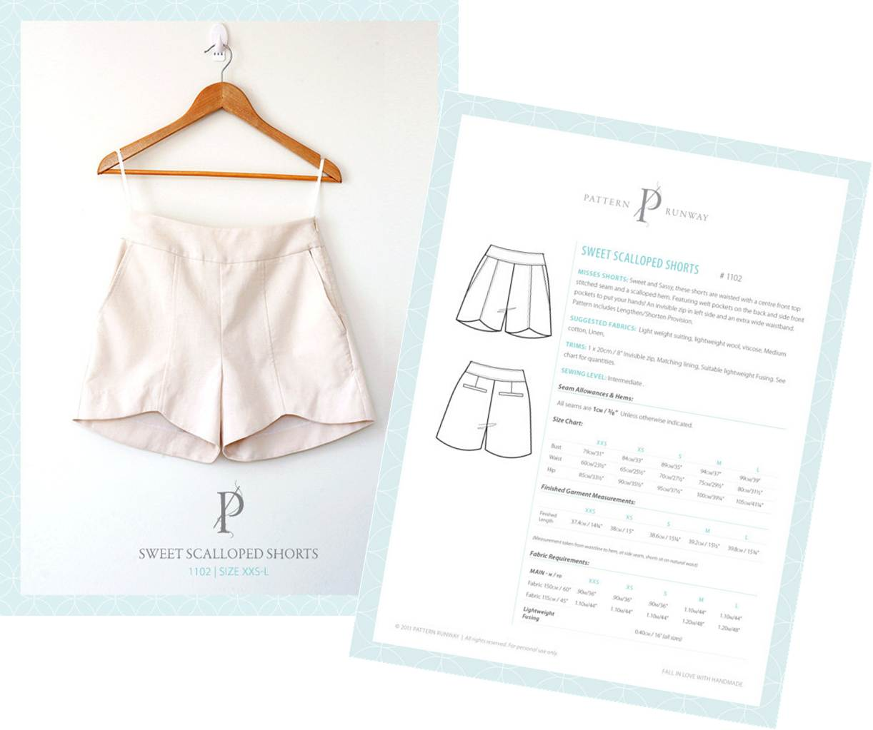 photo regarding Printable Shorts Pattern titled Cost-free Sewing Routine Shorts Â« Style Styles