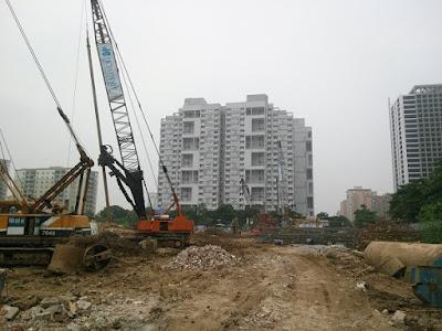 tiến độ dự án HD mon city