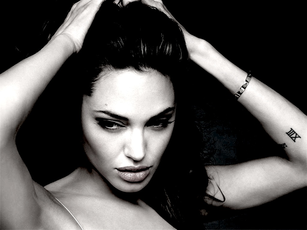 Angelina Jolie Tattoos - Celebrities