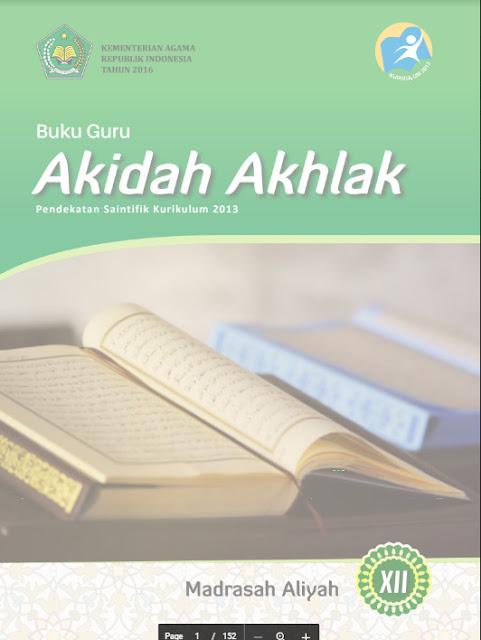 Buku Guru Akidah Akhlak Kurikulum 2013 Kelas 10