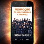 Participar promoção Kinoples Os Mercenários 3 concorrer Smartphone