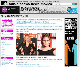 Dyana's work on Mtv Buzzworthy