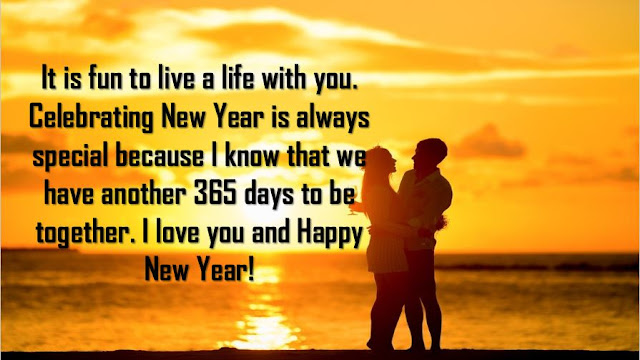 Romantic Happy New Year 2017 Wishes