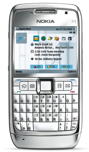 Nokia E71 Image
