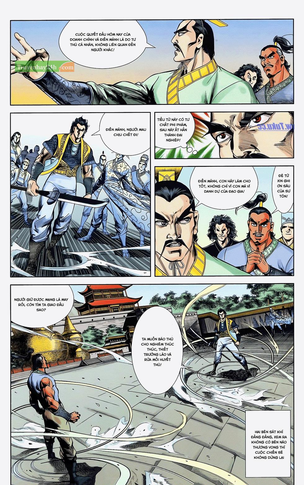 Tần Vương Doanh Chính chapter 22 trang 7