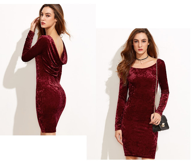 http://www.shein.com/Burgundy-Draped-Back-Velvet-Bodycon-Dress-p-315765-cat-1727.html?utm_source=unconventionalsecrets.blogspot.it&utm_medium=blogger&url_from=unconventionalsecrets