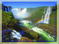 las wodospady tęcza góry