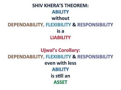 DEPENDABILITY, FLEXIBILITY & RESPONSIBILITY even with less ABILITY is still an  ASSET