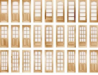 Çeşitli ahşap iç kapı modelleri