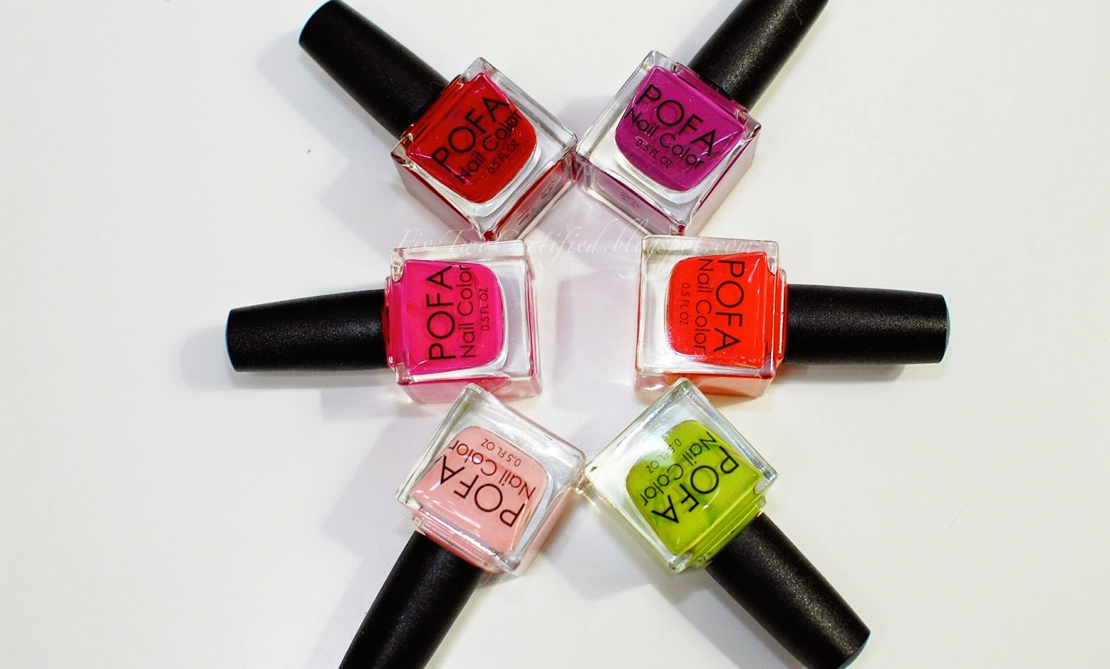 Fivetwo Beauty Pofa Nail Polish Summer2014 Collection