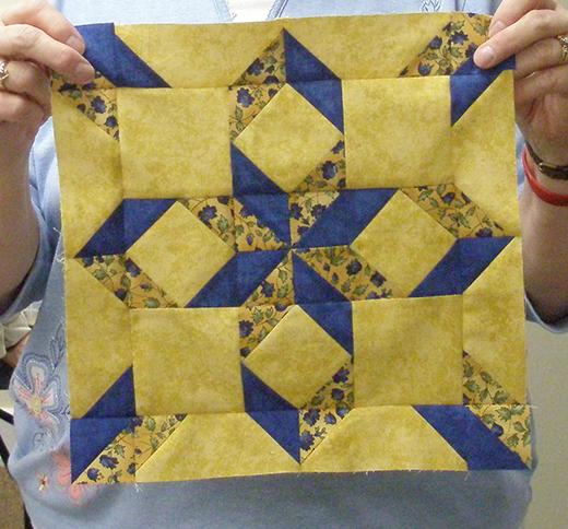 West Virginia Star Block Free Quilt Pattern