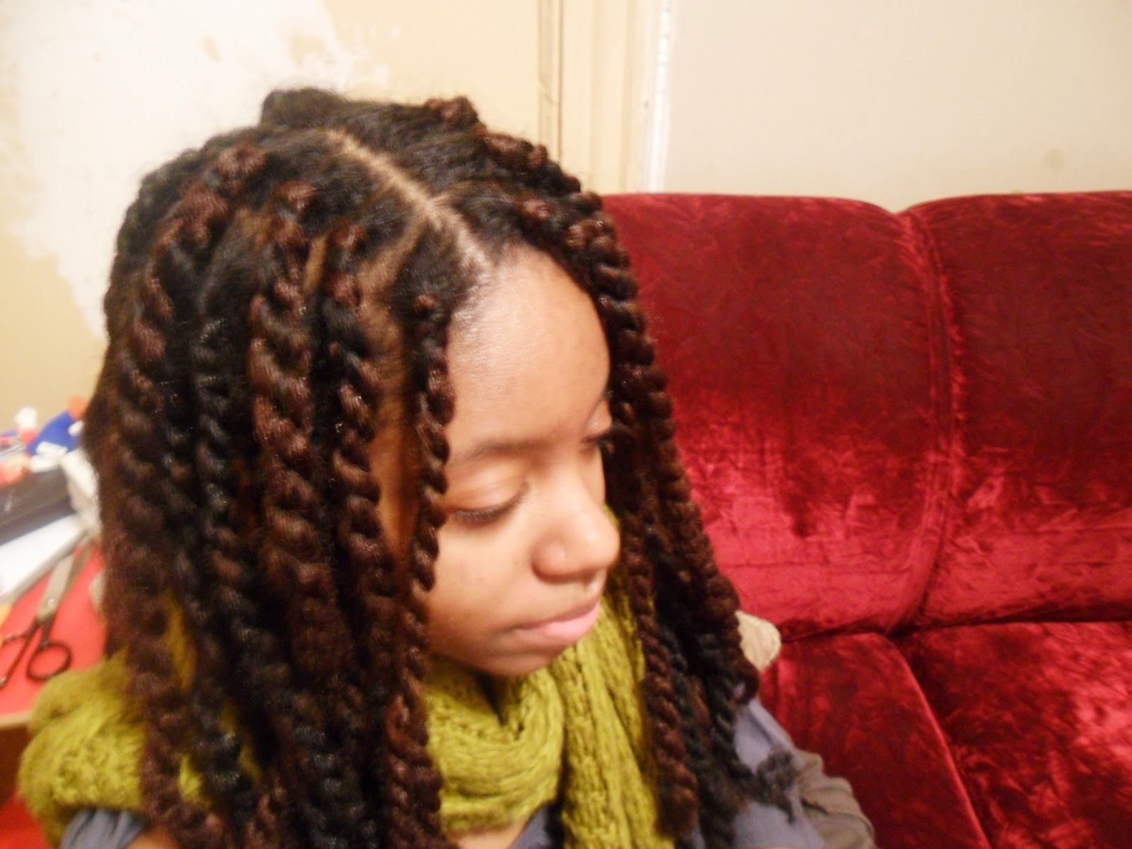 Hair Twist Style: Kearmonie: Doing Havana/Marley Twists For The First Time