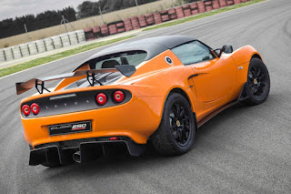 Lotus Elise Race 250 (2016) Rear Side