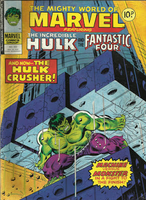 Mighty World of Marvel #322, the Hulk