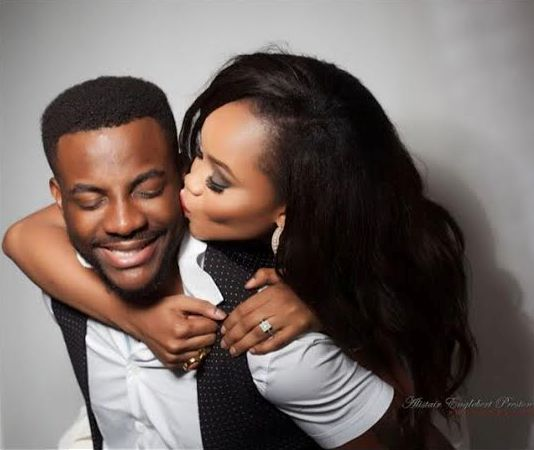 Image result for ebuka and wife