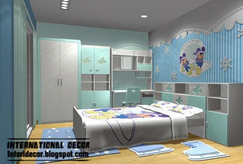 Minnie Mouse Kids Room Theme, Kids Room Themes Decorating Ideas