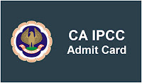 IPCC Admit Card Download CA IPCC Hall Ticket for Nov Exam
