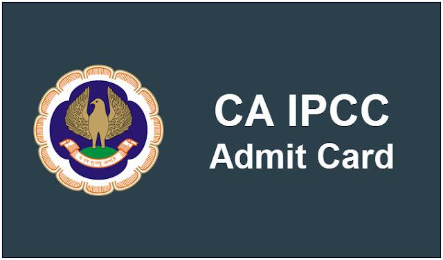 IPCC Admit Card Download CA IPCC Hall Ticket for Nov Exam