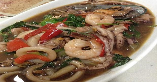 Seafood With Thai Basil Recipe