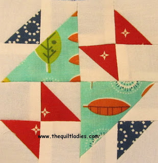 quilt pattern tutorial by The Quilt Ladies