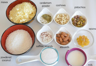 Gujiya Ingredients