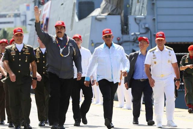 """El """"pacifista"""" Maduro anuncia ejercicios militares para el 24 y 25 de febrero"""