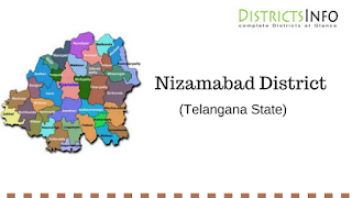 Nizamabad District With Mandals