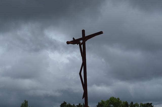 Cruz do Santuário de Fatima em Portugal
