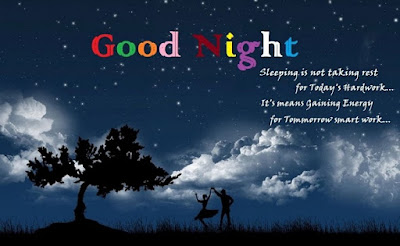 Good Night Message Image