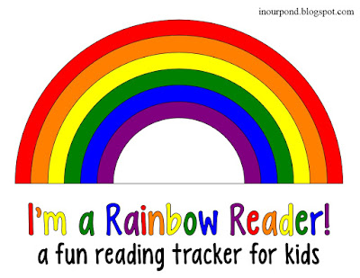 FREE Rainbow Sight Words Tracker with 120 Flash Cards from In Our Pond