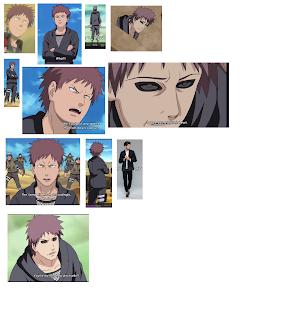 pixel art naruto characters Rasa reference image