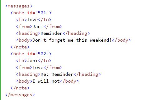 xml attributes html web design tutorial