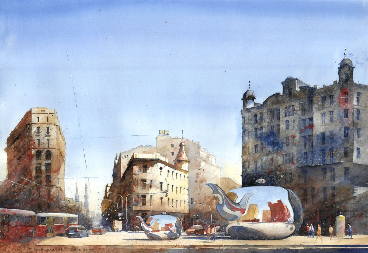 19-Unii-Lubelskiej-Square-in-Warsaw-Tytus-Brzozowski-Architecture-Meets-Watercolors-Paintings-in-Warsaw-www-designstack-co