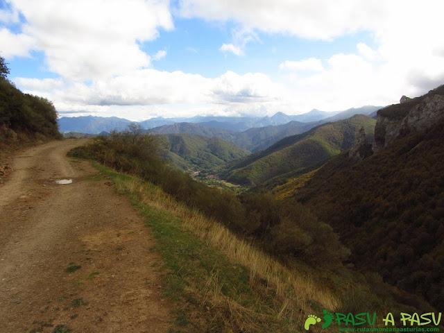 Pista Fuente Dé - Horcada de Valcabao