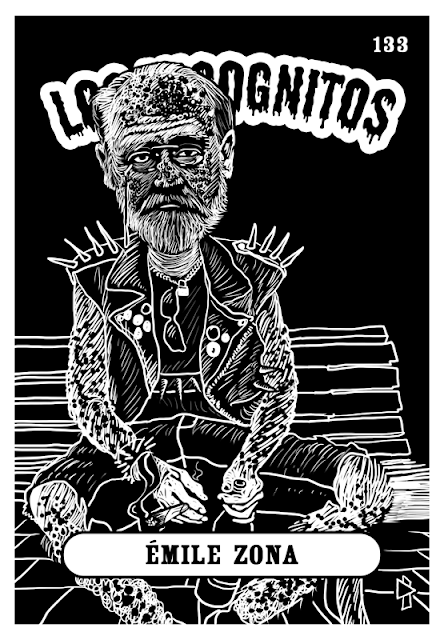 Émile Zola Los Incognitos Gwen Tomahawk