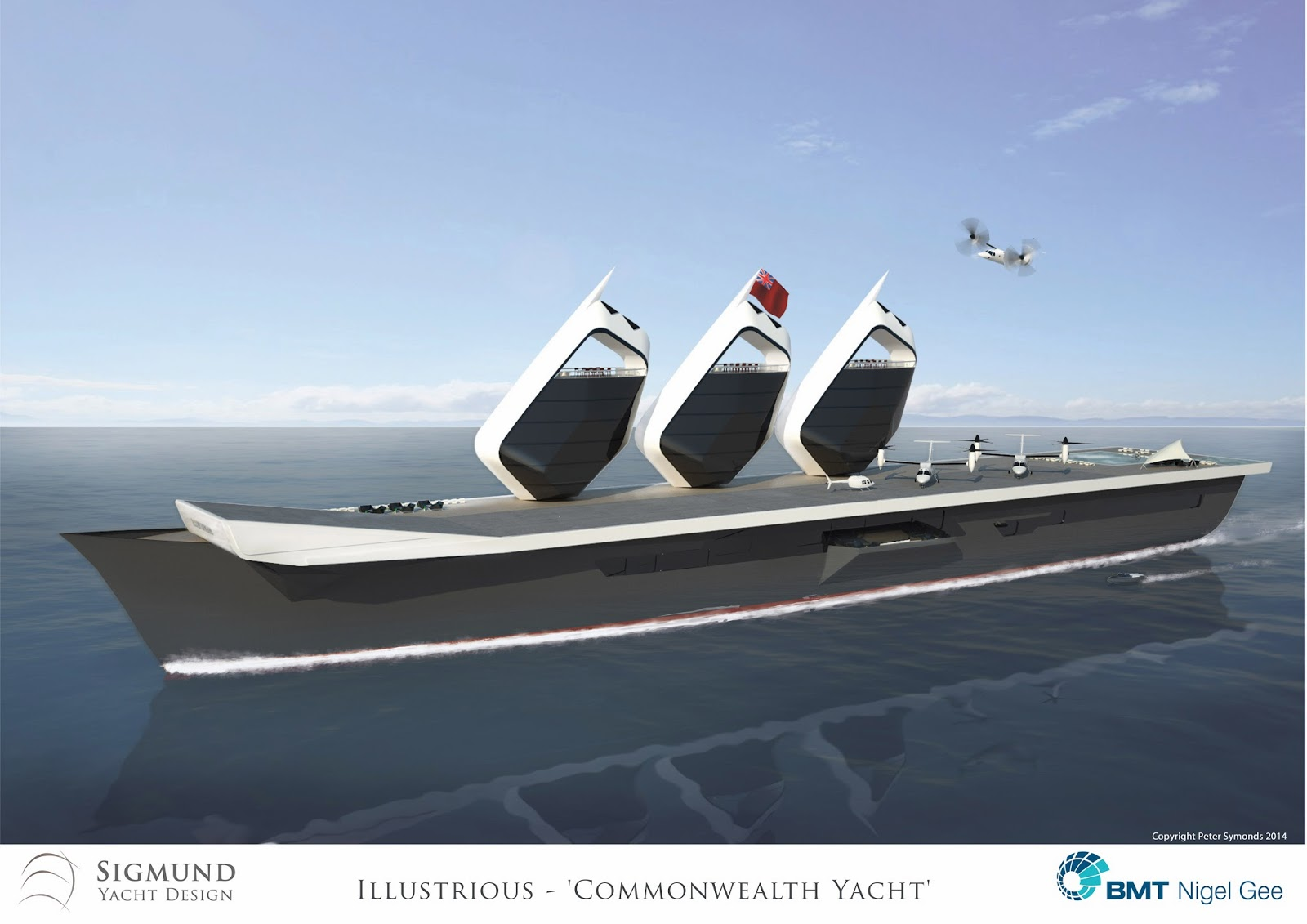 Aircraft Carrier Illustrious Could be Converted into a