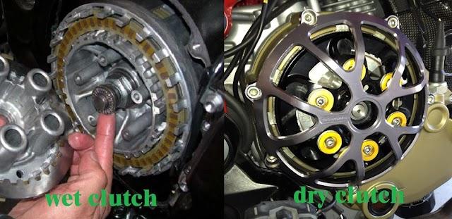 Kelebihan Kekurangan Kopling Basah VS Kopling Kering Motor