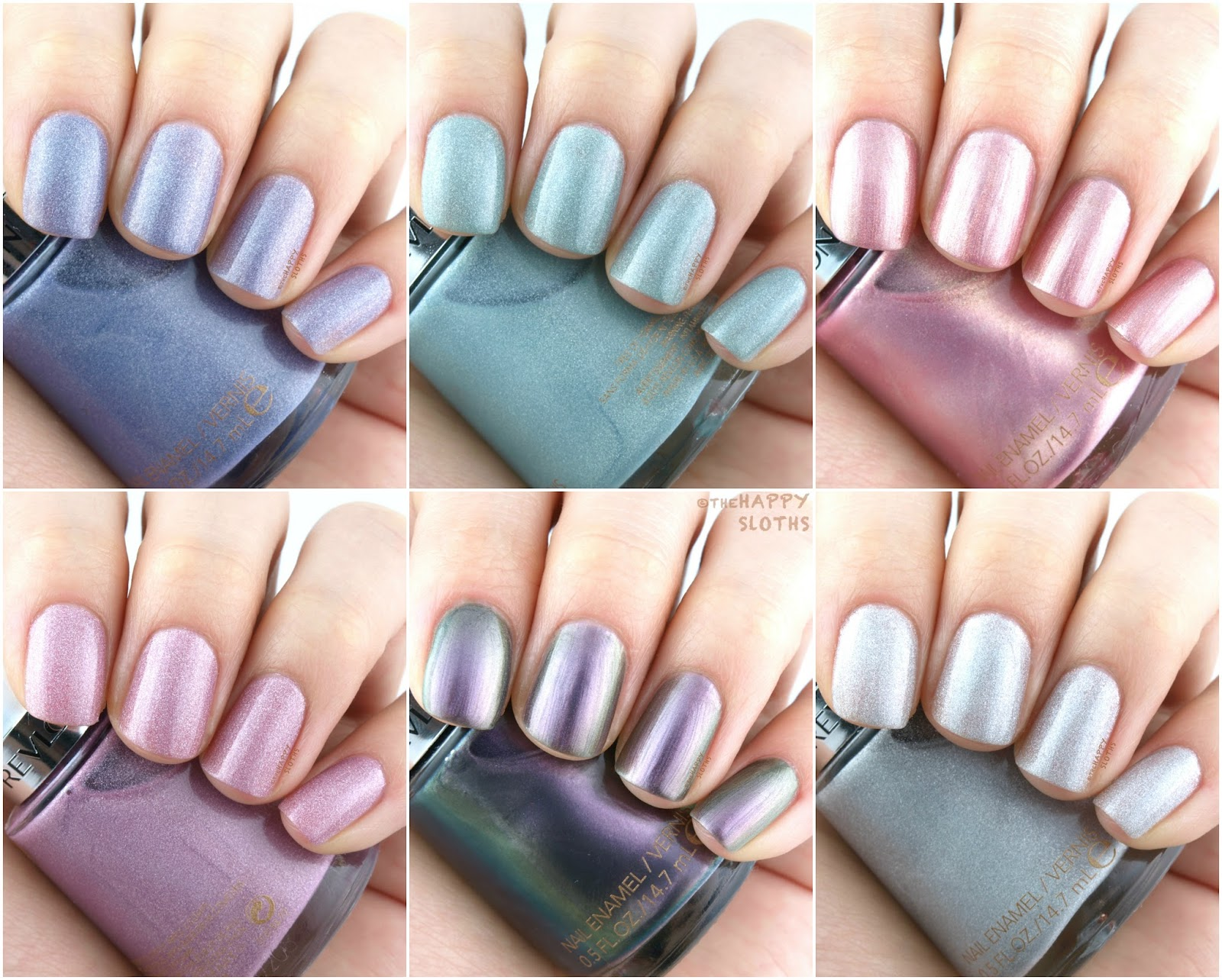Revlon Holochrome Nail Polish Collection: Review and Swatches