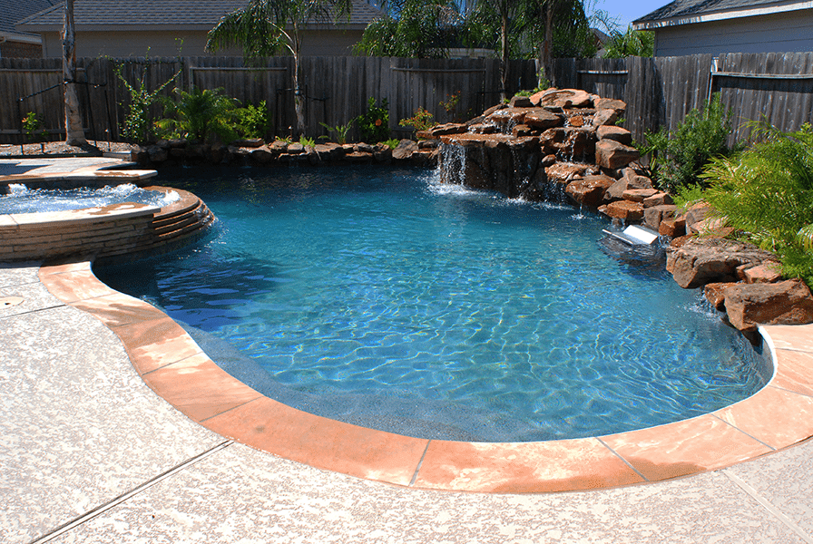 Custom Free From Inground Rock Pools DFW  2