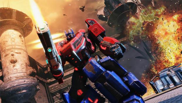 تحميل لعبة Transformers Fall of Cybertron